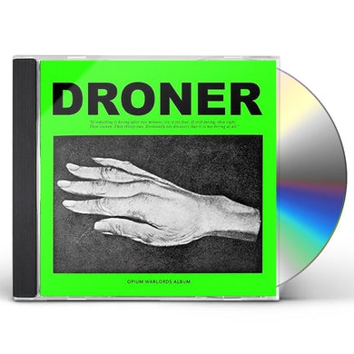 Opium Warlords DRONER CD
