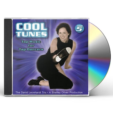 David Leonhardt TAP MUSIC FOR TAP DANCERS 5 COOL TUNES CD