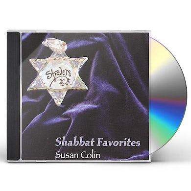 Susan Colin SHABBAT FAVORITES CD