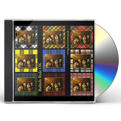 Screaming Orphans BALLADS RULE OK CD