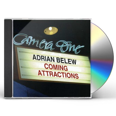Adrian Belew COMING ATTRACTIONS CD