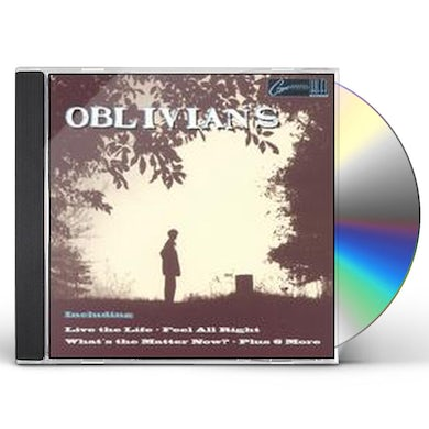 Oblivians PLAY 9 SONGS WITH MR QUINTRON CD