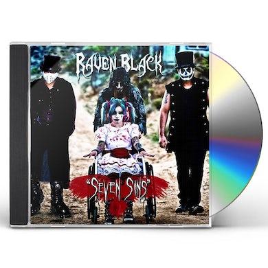 Raven Black SEVEN SINS CD
