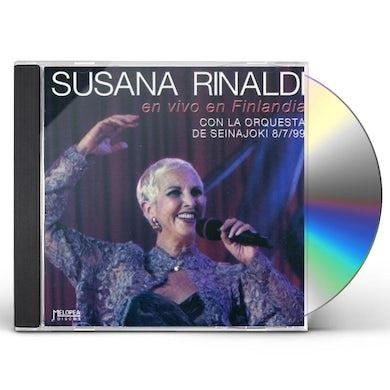 Susana Rinaldi EN VIVO EN FINLANDIA CD
