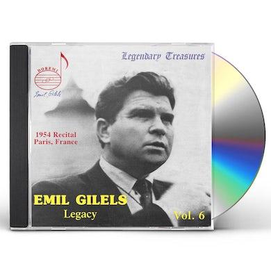 Emil Gilels LEGACY 6 CD