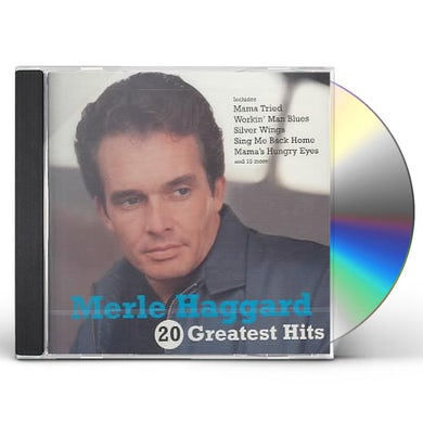Merle Haggard 20 GREATEST HITS CD