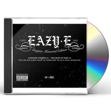 Eazy-E GANGSTA MEMORIAL CD