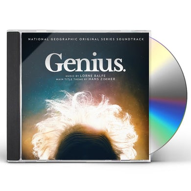 Lorne Balfe GENIUS (ORIGINAL NATIONAL GEOGRAPHIC SERIES SOUND) CD