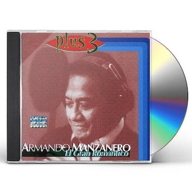 Armando Manzanero EL GRAN ROMANTICO CD