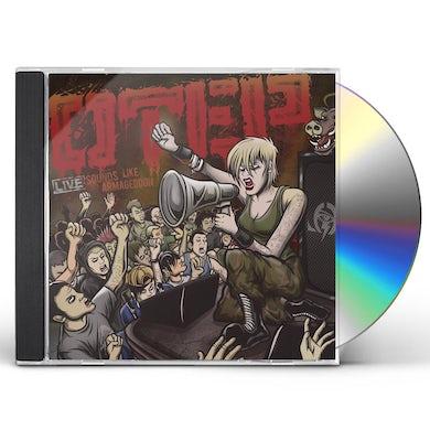 Otep SOUNDS LIKE ARMAGEDDON CD