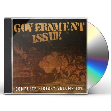 Government Issue COMPLETE HISTORY 2 CD