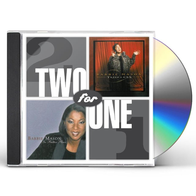 Babbie Mason TWO FOR ONE: TIMELESS / NO BETTER PLACE CD