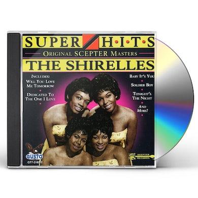 The Shirelles SUPER HITS CD
