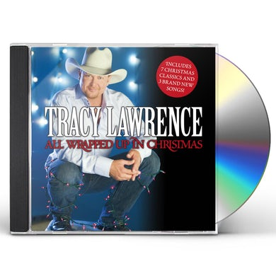 Tracy Lawrence ALL WRAPPED UP IN CHRISTMAS CD