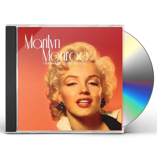 Marilyn Monroe I WANNA BE LOVED BY YOU CD