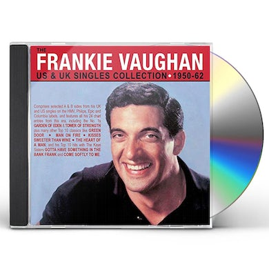 Frankie Vaughan US & UK SINGLES COLLECTION 1950-62 CD