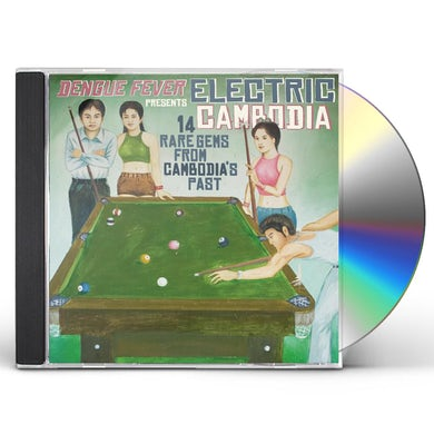 Dengue Fever Presents: Electric Cambodia / Various CD