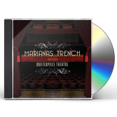 Marianas Trench MASTERPIECE THEATRE (DELUXE EDITION) CD