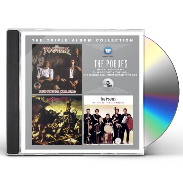 The Pogues TRIPLE ABLUM COLLECTION CD