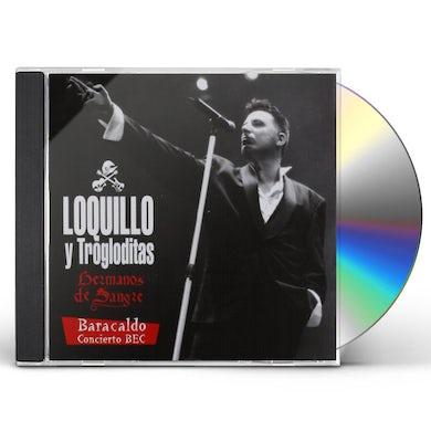 Loquillo y Los Trogloditas HERMANOS DE SANGRE: BARACALDO CONCIERTO BEC CD