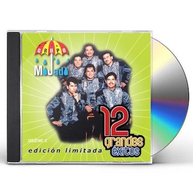 Grupo Mojado 12 GRANDES EXITOS 2 CD