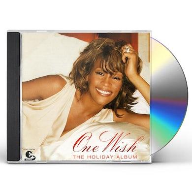Whitney Houston ONE WISH: THE HOLIDAY CD