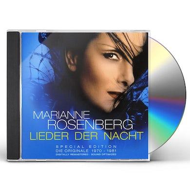 Marianne Rosenberg LIEDER DER NACHT SPECIAL EDITION CD