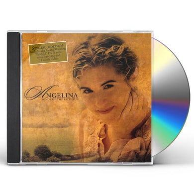 angelina SONGS OF THE FAITHFUL CD