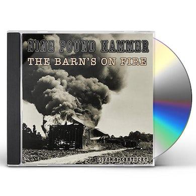 Nine Pound Hammer BARN'S ON FIRE (LIVE IN KENTUCKY) CD