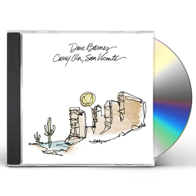 Dave Barnes CARRY ON SAN VICENTE CD