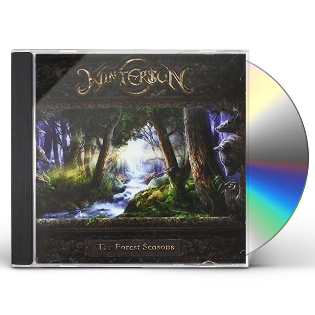 Wintersun FOREST SEASONS: DELUXE EDITION CD