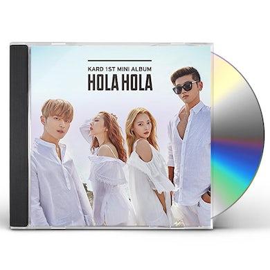 KARD HOLA HOLA CD