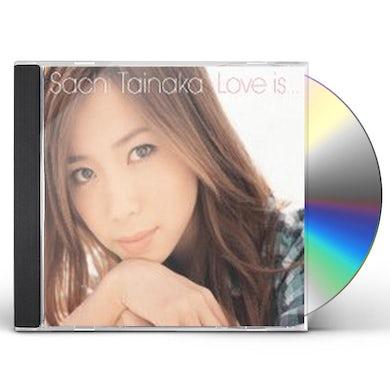 Sachi Tainaka LOVE IS CD