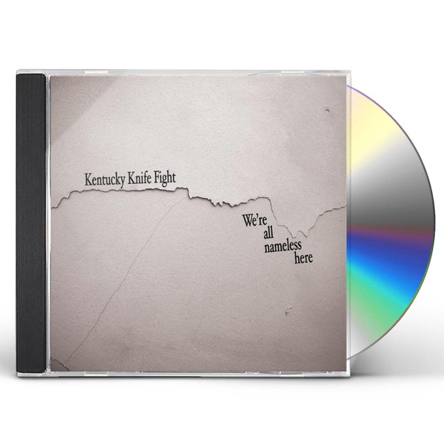 Kentucky Knife Fight WE'RE ALL NAMELESS HERE CD