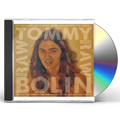 Tommy Bolin ORIGINAL RAW UNCUT GLEN HOLLY STUDIO RECORDINGS CD