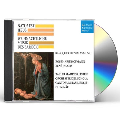 Schola Cantorum Basiliensis NATUS EST JESUS: BAROCKE WEINACHTSMUSIK CD