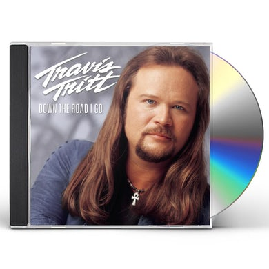 Travis Tritt DOWN THE ROAD I GO CD