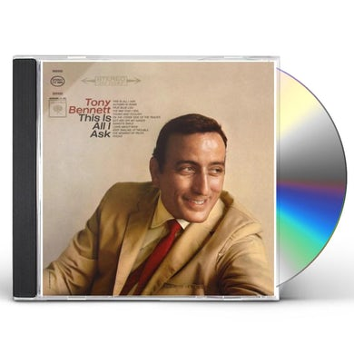 Tony Bennett THIS IS ALL I ASK CD