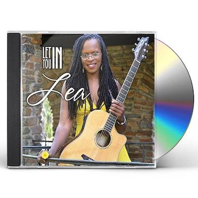 Lea LET YOU IN CD