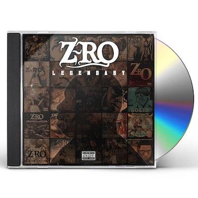 Z-Ro LEGENDARY CD