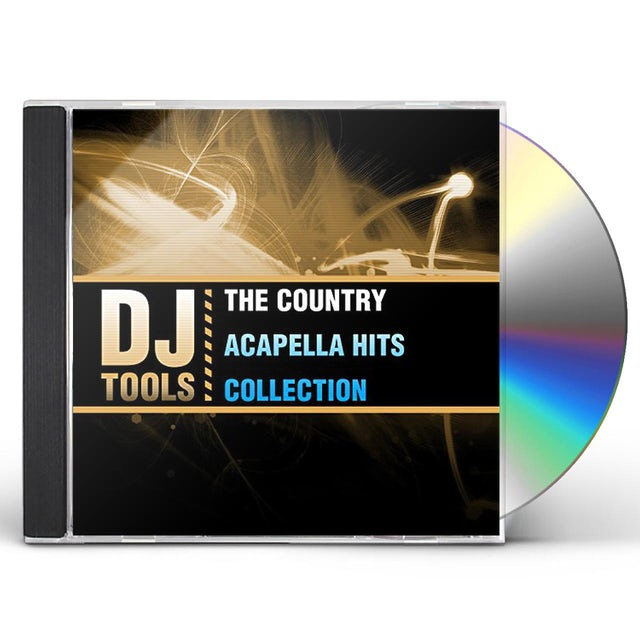 DJ Tools COUNTRY ACAPELLA HITS COLLECTION CD