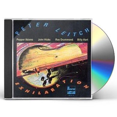 Peter Leitch EXHILARATION CD