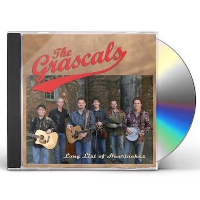 Grascals LONG LIST OF HEARTACHES CD