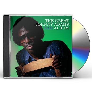 GREAT JOHNNY ADAMS R&B ALBUM CD