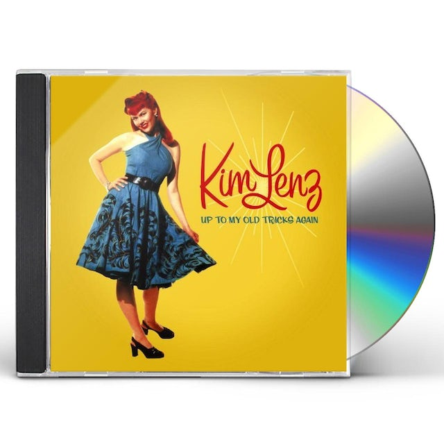 Kim Lenz UP TO MY OLD TRICKS AGAIN CD