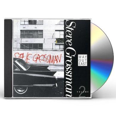 Steve Grossman WAY OUT EAST 2 CD