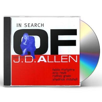 JD Allen IN SEARCH OF CD