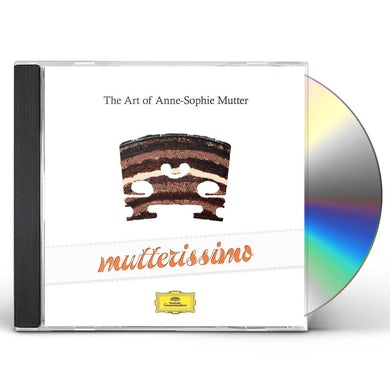 Mutterissimo - The Art Of Anne-Sophie Mutter (2 CD) CD