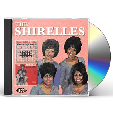 The Shirelles SWING THE MOST / HEAR & NOW CD