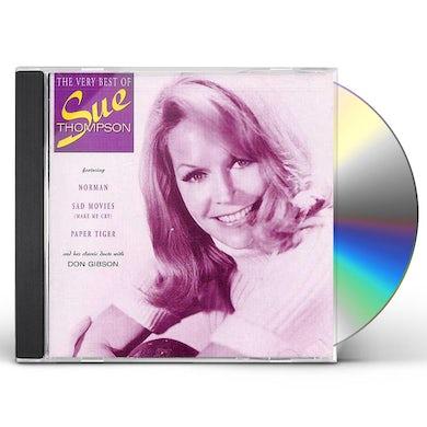 Sue Thompson VERY BEST OF CD